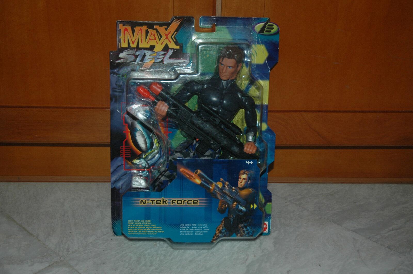 MAX STEEL N-TEK FORCE - Action Figure NEW