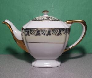 Superior China Baveria Decor Coffee Pot  22 Carat Gold