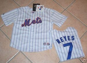 official photos 8785e 9fd78 Details about NEW YORK METS JERSEY SHIRT REYES MAJESTIC TODDLER S 7