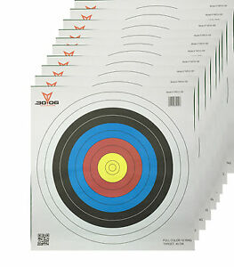 Paper-Archery-Target-Full-Colour-10-Ring-40cm-10-Pack