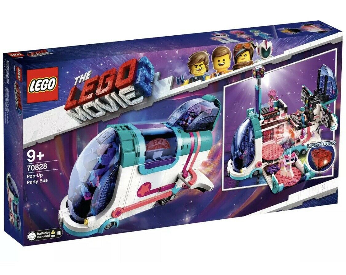 Lego 70828 Lego Movie 2 Pop-Up Party Bus NEW