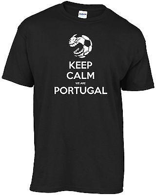Portuguese football - Keep Calm We Are Portugal t-shirt