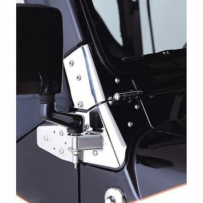 Mirror Relocation Brackets for Jeep Wrangler TJ 2003-2006 11025.03 Rugged Ridge