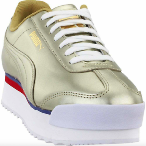 puma roma amor mixmetal gold sneakers casual shoes for