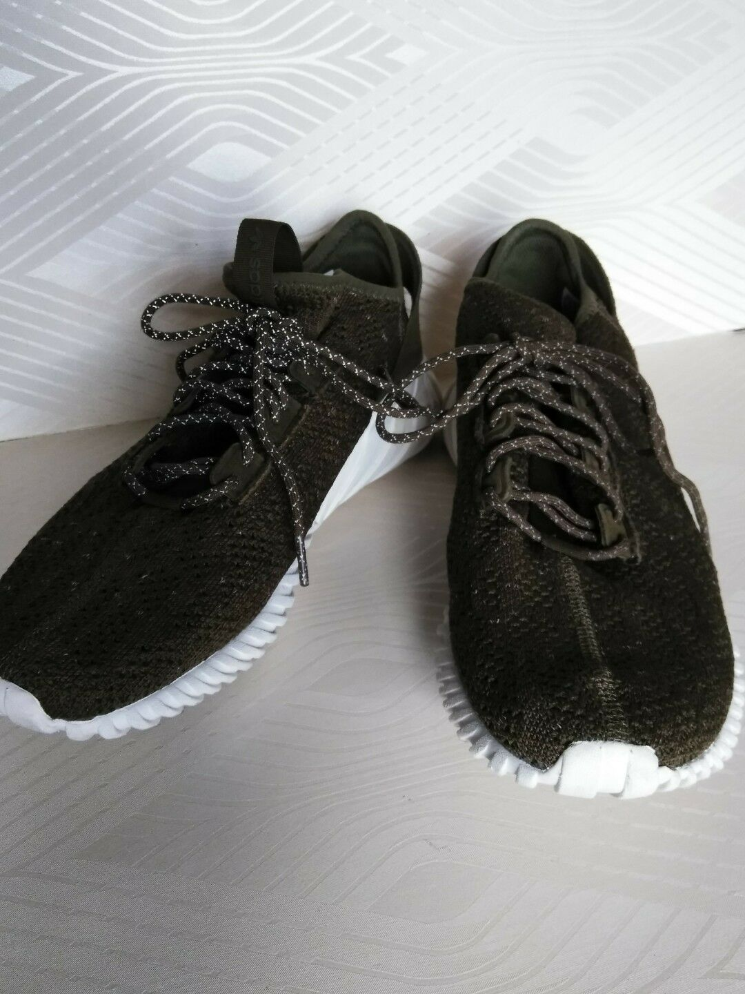 info for a35a4 73c40 Adidas Tubular Doom Sock Trace Olive Olive Olive Green SIZE 12 27 d0ee2a ...