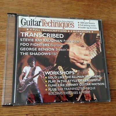 Guitar Techniques CD: September 2004 | eBay