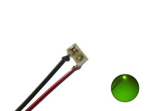 S1140-10-Stueck-SMD-LEDs-0201-gruen-mit-Draht-Kupferlackdraht-micro-mini