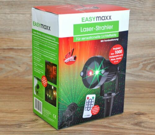Fernbedienung NEU * Laser Außen Strahler von EASYMAXX für Lichteffekte Inkl