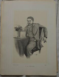 Classeur 80 images la revue illustrée 1885-1912 personnalités Litt sciences arts