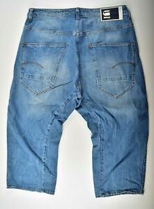 G-Star-Raw-Arc-R-3D-Tapered-3-4-Size-W34-Jeans-Shorts