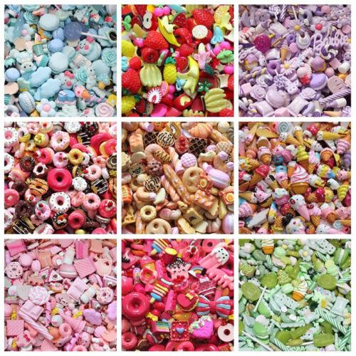 Crafts Wholesale Food Assorted Kawaii Desserts Sweets Cabochon Resin Flatback