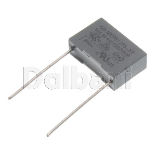 10pcs MKP61-275V104M Metallized Film Capacitor MKP61 275V