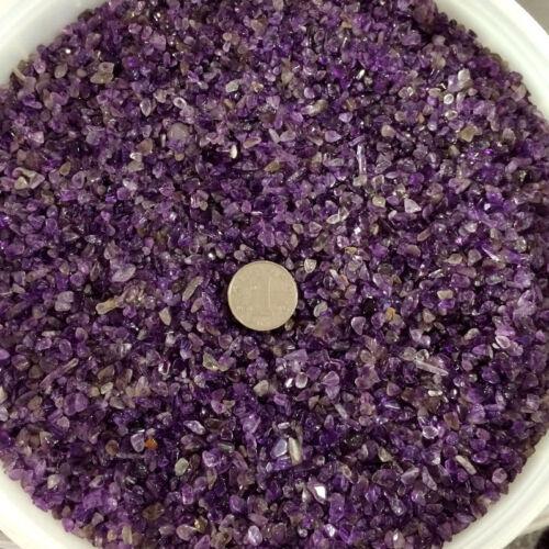 50g//Bag Natural Mini Amethyst Point Quartz Crystal Stone Rock Chips Healing 1//2P