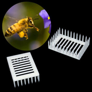 Plastic-Queen-Marker-Cage-Clip-Bee-Catcher-Beekeeper-Beekeeping-Tools-EquipmenMO