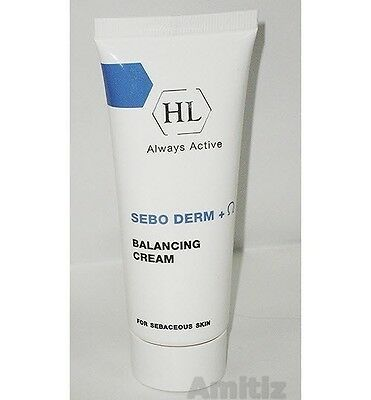 HL HOLY LAND Sebo Derm + Ω Balancing Cream for Sebaceous Skin 70ml seboderm