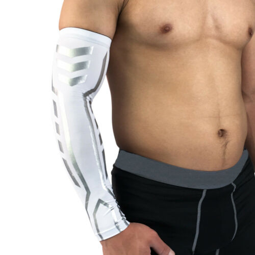 Protective Gear Supports Basketball Arm Cover Sports Elastic Arm Sleeve 1 Piece