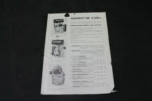 Age Print Auto Union Ag DKW Advertising Vintage Collector