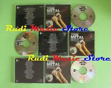 CD THE METAL BOX compilation 1995 BLACK SABBATH MOTORHEAD STATUS QUO (C23)