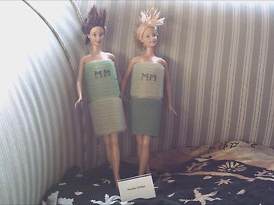 2-elegante Design Di Barbie By * Marlies Möller * Unici-top-condizioni-look-mostra Il Titolo Originale Alleviare Reumatismi E Freddo