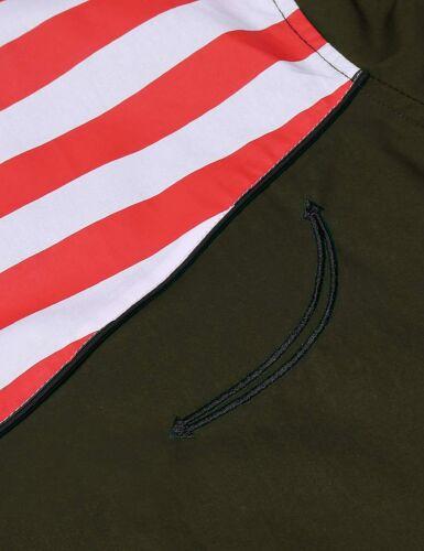 COOFANDY Men/'s Casual American Flag Button Down Shirts Slim Fit Long Sleeve Shir