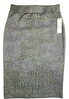 New Bcx Women's S Midi Pencil Skirt Blk-gun Women's Clothing