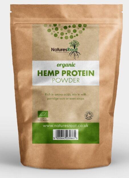 Organic Hemp Protein Powder - Vegan   Vegetarian    Shake - All GrößeS