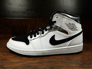 new arrival 273dc bcd09 Details about Air Jordan 1 Mid - Alternate Kawhi Think 16 (White/Metallic  Silver) [554724-121]