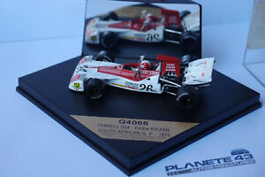G8 Quartzo 4066 Tyrrell 004 Eddie Keizan Süd Afrika GP 1973 1:43 Gebraucht