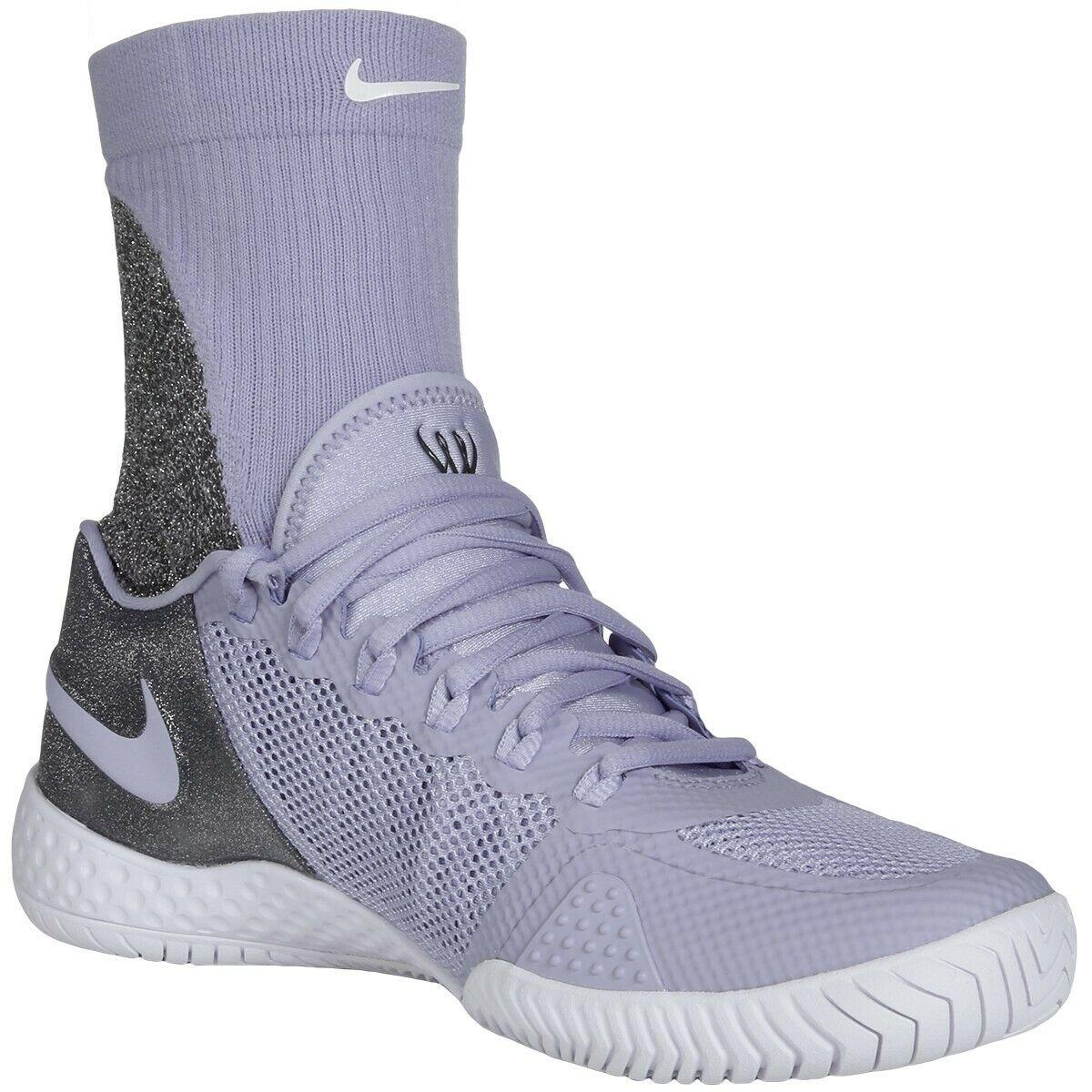 Wmns Nike Flare 2 HC Serena Williams Tennis UK 5 EUR 38.5 Purple Rise AV4713 500
