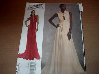 Uncut Vogue 1030 Designer Gown by Badgley Mischka
