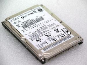"""30 Gb 2,5 """" 6,35cm Disque Dur Fujitsu Mht2030at Disque Dur Hdd #f119"""