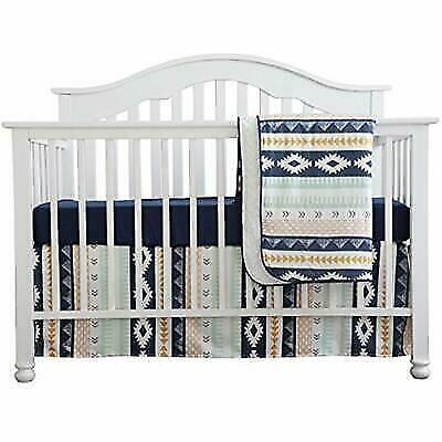 Nursery Bedding Sets Boy.Baby Bedding Sets Boy Crib Arizona Woodland Tribal Aztec Buck Nursery Skirt Navy For Sale Online Ebay