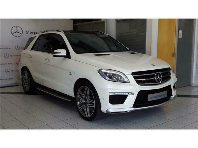 2014 Mercedes-Benz ML 63 AMG 4MATIC Speedshift 7G-Tronic, White with 49000km available now!
