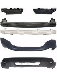 For 2007-2009 Honda Crv Cr-V Front Bumper Cover Center Beam