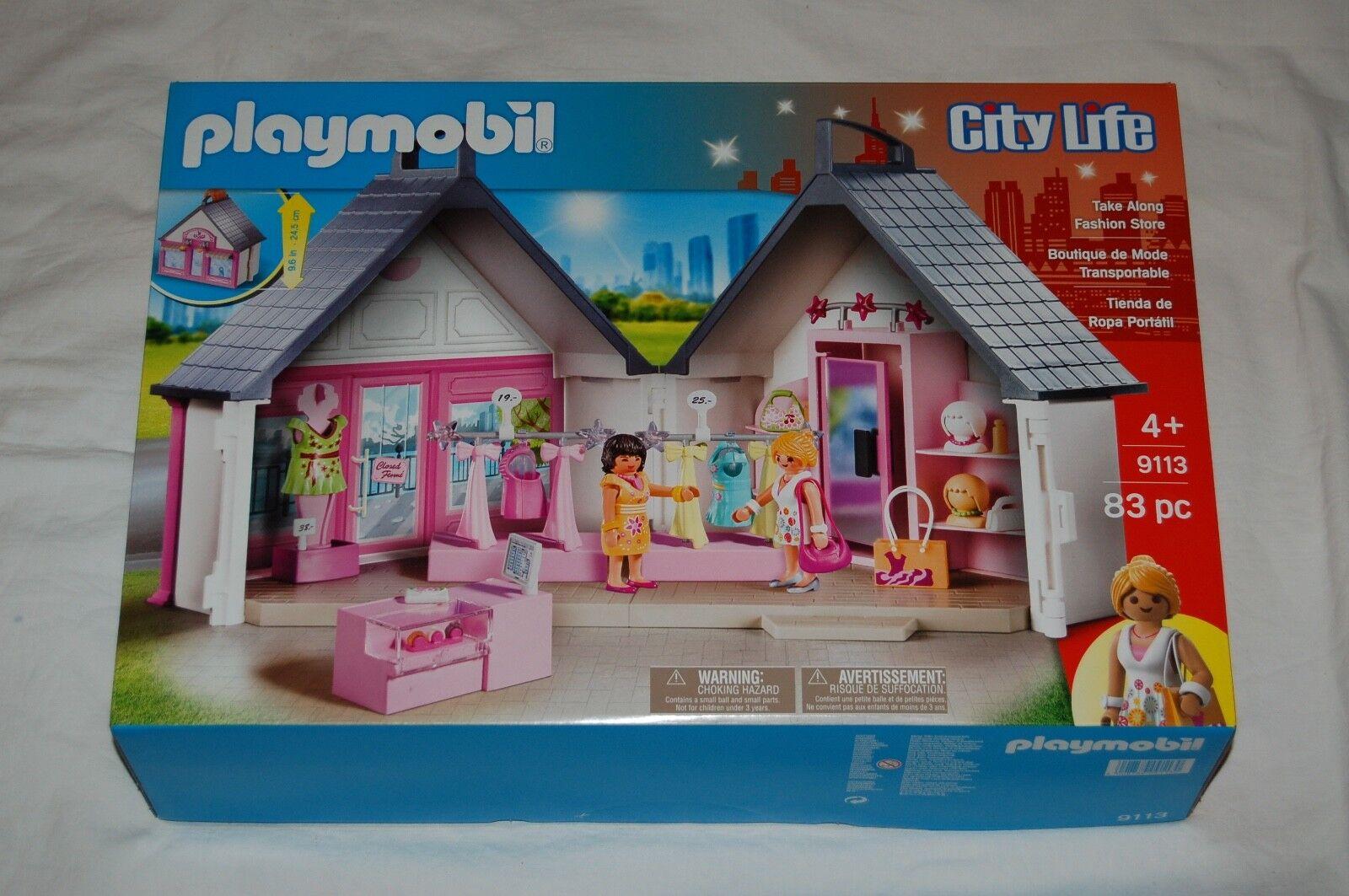 Playmobil 9113 Modeboutique Modegeschäft Fashion Store  NEU