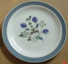 Alfred Meakin Glo White Ironstone Side Plate BLUE CLOVER