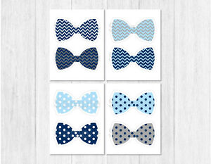Bow tie baby shower party cutouts decorations printable ebay for Baby shower decoration cutouts