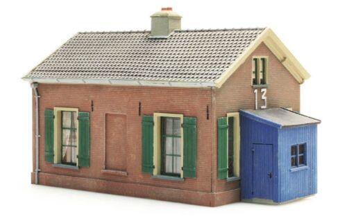 Artitec 10.174 wärterhaus 13 h0 1:87 kit desmontan resin edificio casa