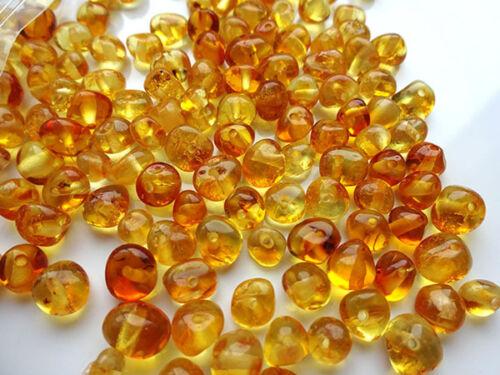Naturbernstein gebohrt auffädeln 10 gr ca 100 Stücke