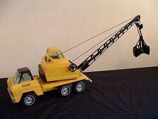 Vtg Nylint Construction Truck Husky Crane Press Steel Toy Rockford Ill USA #230