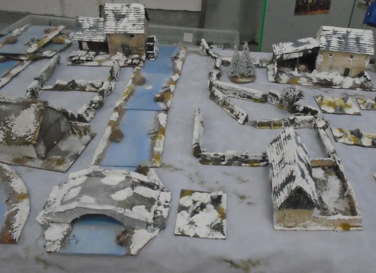 Ardenne batalla de bulto Mega batalla adecuado para la acción Perno terreno construida a mano
