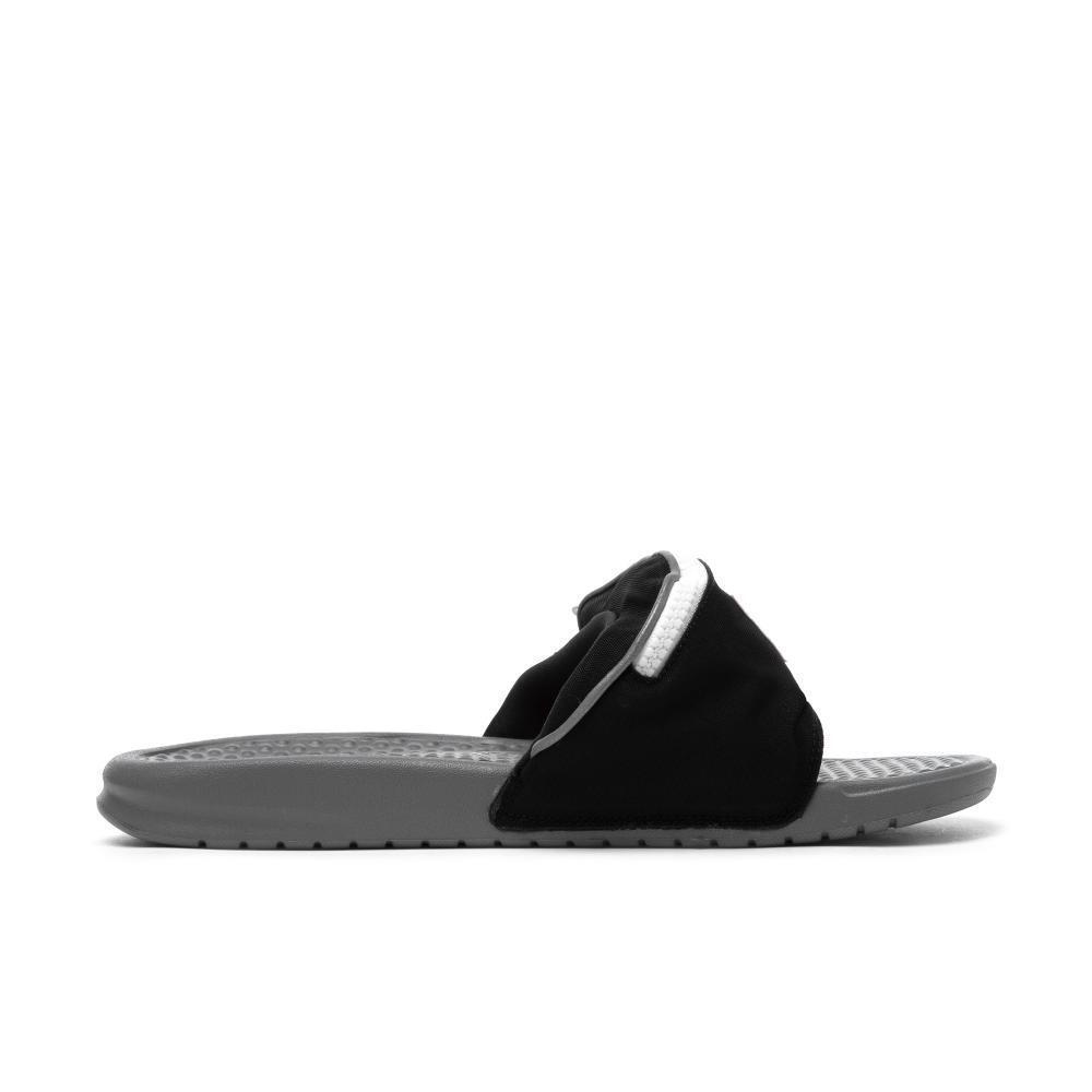Nike MEN'S Benassi JDI FANNY PACK PACK PACK Black Cool Grey Summit White SIZE 7 BRAND NEW b33638
