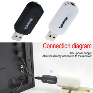 USB-Bluetooth-Receiver-Music-Audio-Dongle-3-5-mm-Jack-AUX-Adapter-Car-Speaker