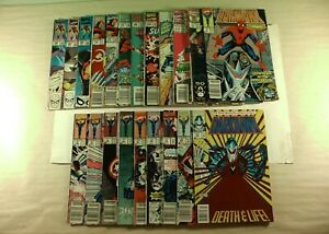 Lot-of-21-Marvel-Comics-Iron-Man-Darkhawk-amp-Marvel-Super-Heroes-Specials