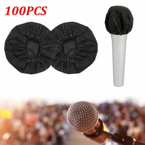 100PCS Mikrofon Hygiene Geruch Entfernung Einweg vlies Mic Abdeckungen
