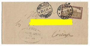 1924-Anno-Santo-cent-30-sassone-170-isolato-per-Cosenza-nel-1926