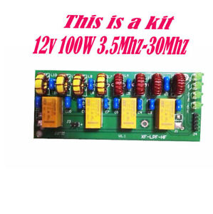 Details about NEW 12v 100W 3 5Mhz-30Mhz HF power amplifier low pass filter  KIT