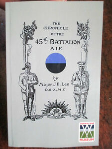 45th-039-CHRONICLE-OF-THE-45th-BATTALION-AIF-MILITARY-BOOK