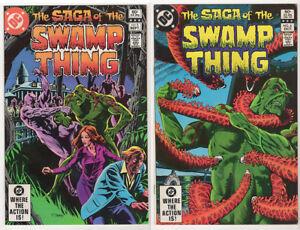 SWAMP-THING-FN-VF-LOT-20-1982-92-Superman-Batman-Totleben-Alcala-Yeates-Veitch