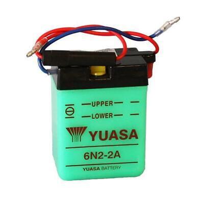 (sf19) Batteria Yuasa 6n2-2a-1 6v/2ah No Acido Morini/yamaha Tt Sgr 0600211